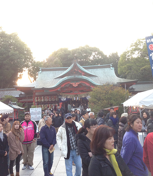 大祓の儀:宮崎八幡宮
